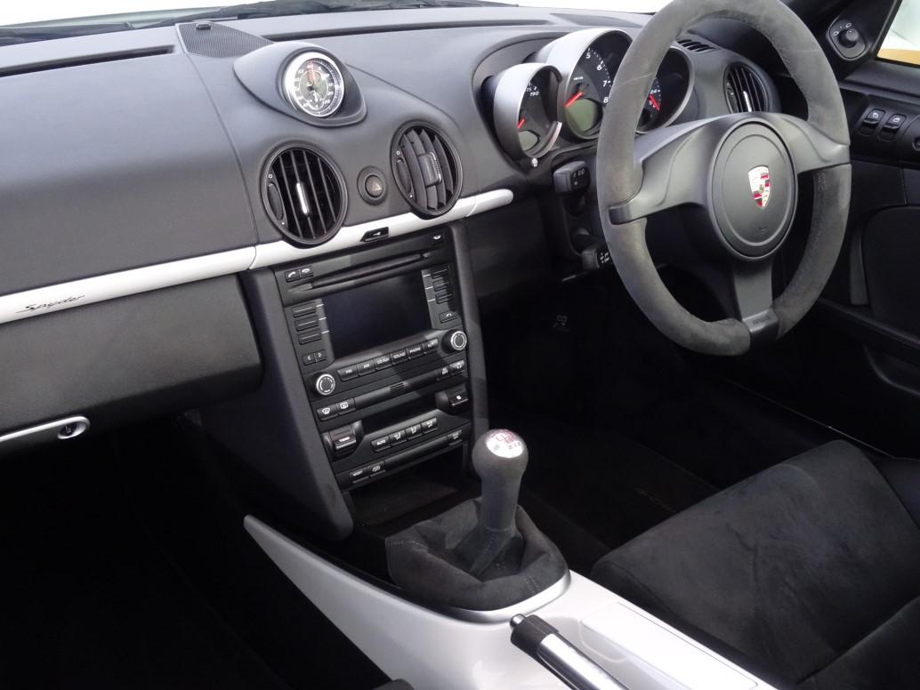 Rpm Specialist Cars Porsche 987 Spyder For Sale Yorkshire
