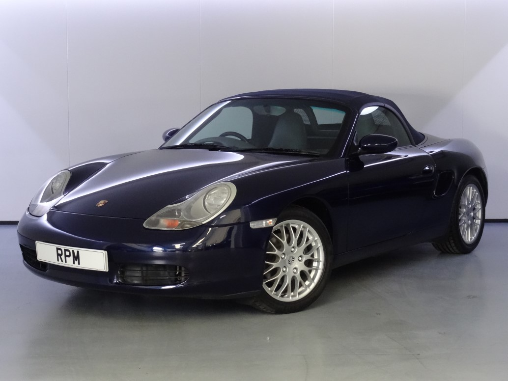 Rpm Specialist Cars Porsche 986 Boxster 2 7 Manual