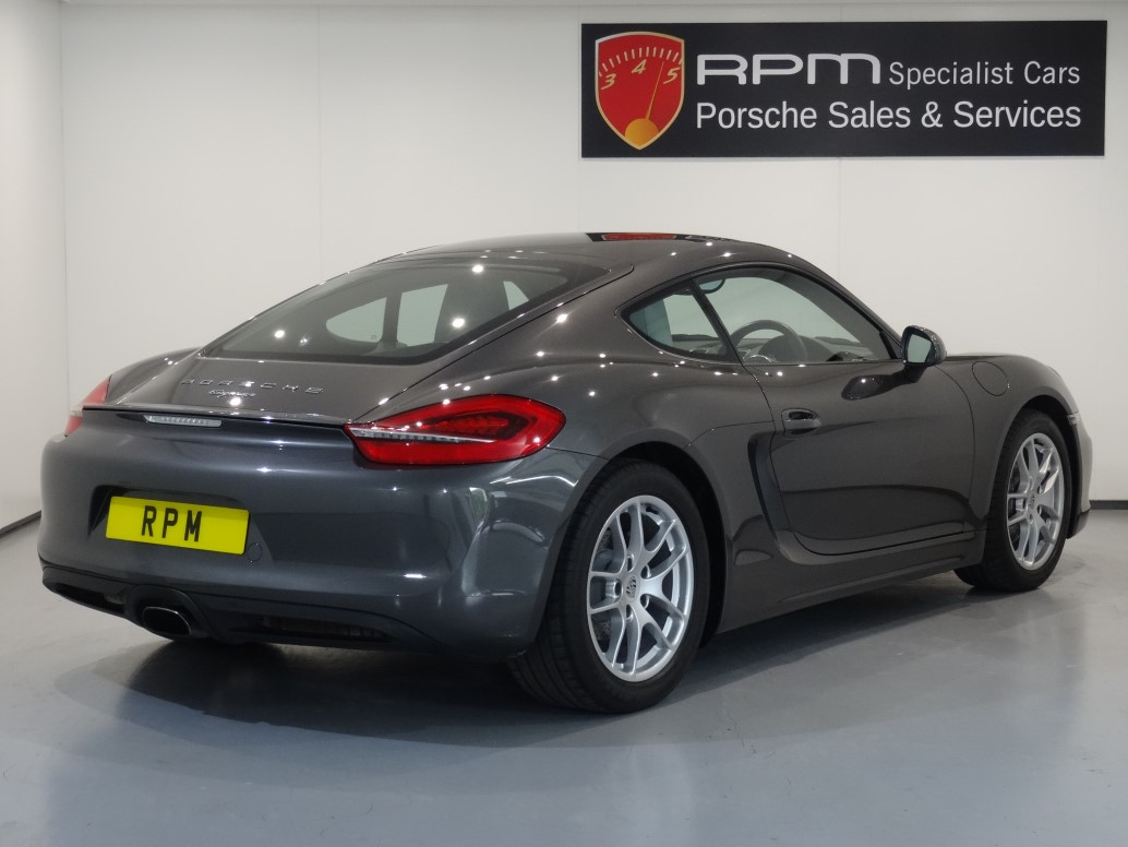 for sale porsche 981 cayman 2 7 pdk rpm specialist cars. Black Bedroom Furniture Sets. Home Design Ideas