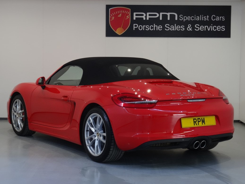 Used Porsche 981 Boxster S For Sale Independent Porsche Specialist
