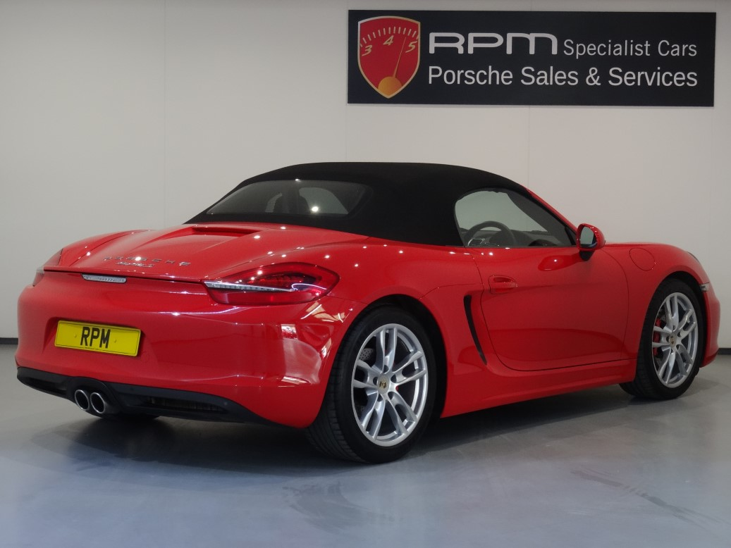 Used Porsche 981 Boxster S For Sale Independent Porsche