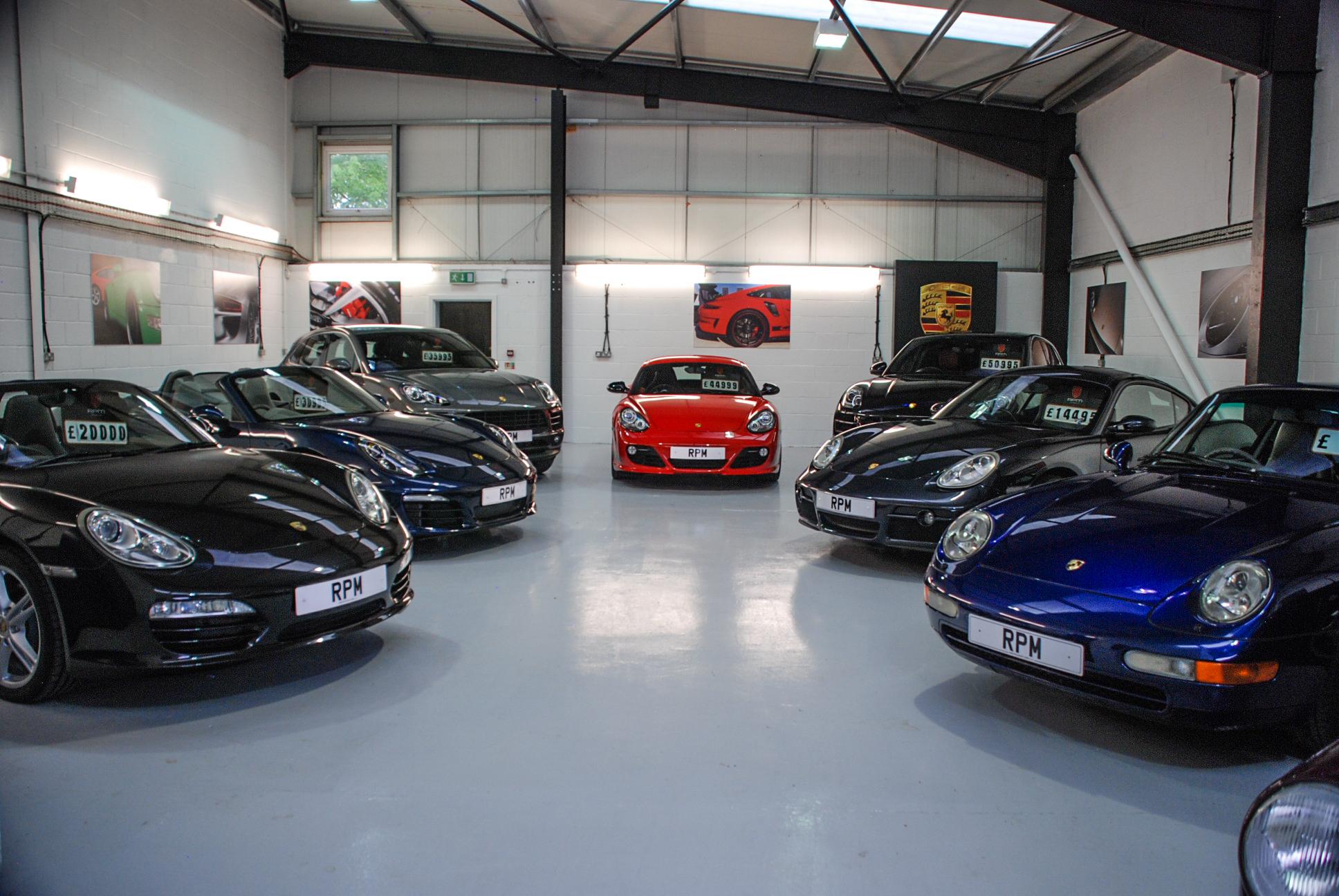 RPM Specialist Cars Porsche Showroom-11
