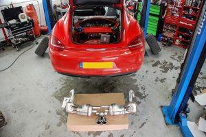 Porsche 981 Sports Exhaust
