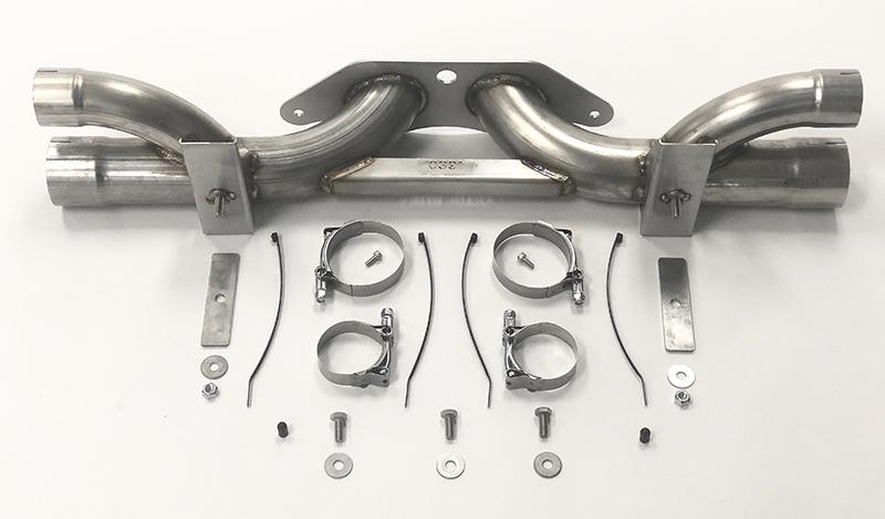 Porsche GT3 Shark Werks Exhaust