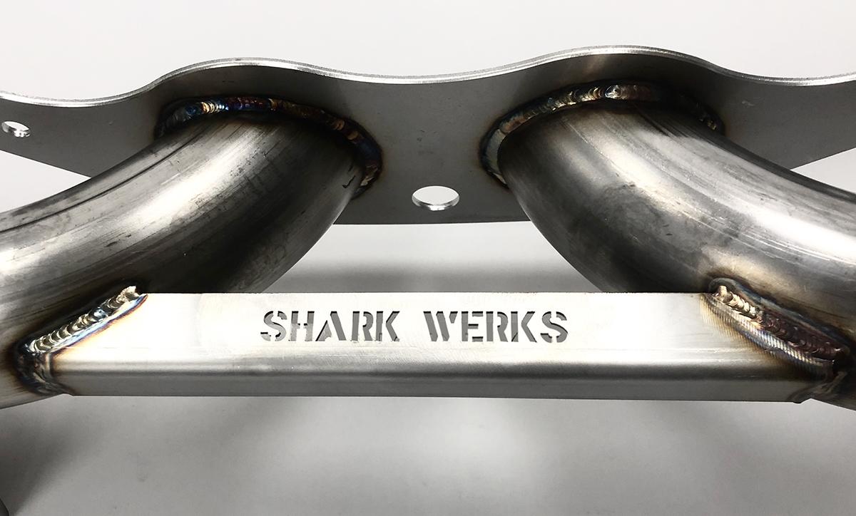 Shark Werks Porsche Exhaust RPM