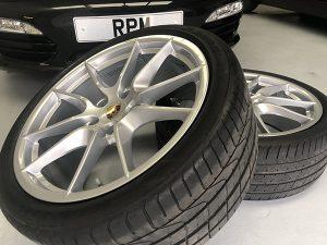 Porsche Alloy Wheel Refurbishment